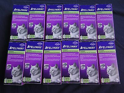 NEW Ceva / Comfort Zone Feliway LOT 12 - 20ml Sprays Authentic! FREE SHIPPING!