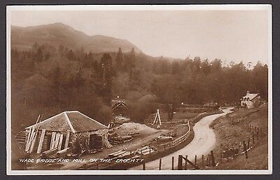 Postcard Wade Bridge and Mill on the Erochty RP