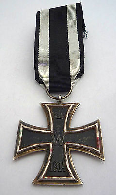 Ww1 Iron Cross 2Nd Class Medal - No Makers Name