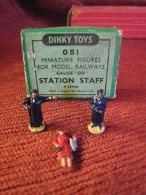 Dinky Toys Miniature Railways Figures 00 Guage Boxed