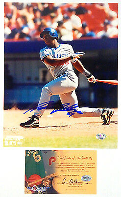 1999 Adrian Beltre Signed 8 x10 Color Photo Dodgers Auto with COA