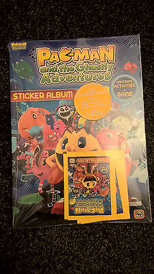 Pacman & The Ghostly Adventures Stickers Starter Pack