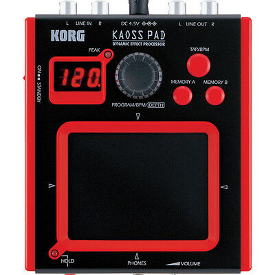 Korg mini-KP Kaoss PAD Dynamic effect processor