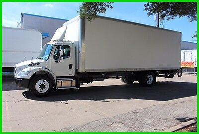 2012 Freightliner M2 28 foot Box Truck with lift gate Used box truck