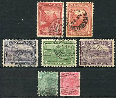 Tasmania  Lot Of Used Stamps As Shown