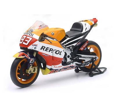NewRay 1:12 Scale Marc Marquez Repsol Honda Team RC213V 2015 Orange
