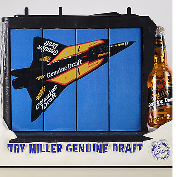 Miller Genuine Draft Bar Light and Moving Display