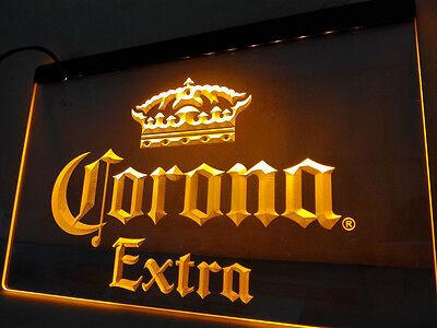 Corona Neon Light Sign Man Cave Restaurant Pub Bar Bedroom Display