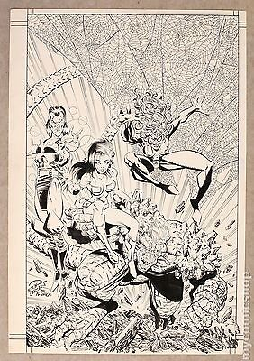 Original Cover Art for Atomic Clones #1 (Unreleased) by Erik Larsen & Al Gordon