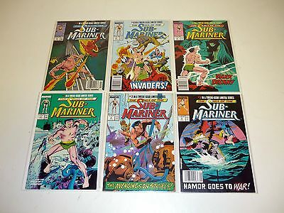 SAGA OF SUB-MARINER #1 2 3 4 5 6 7 8 9 10 11 12 Marvel Comic Book VF-NM COMPLETE