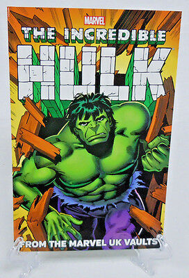 Incredible Hulk From the UK Vaults Hulk Comic 1-6 Marvel TPB New Trade Paperback