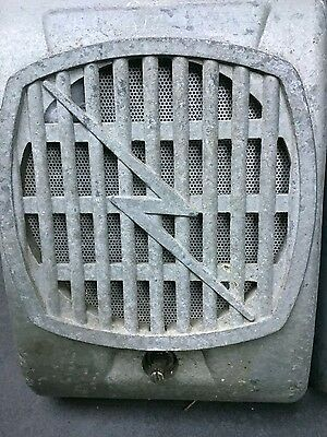 Drive In Speakers  And Junction Box. Lightning Bolt Grilles From Tge 1960's.