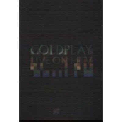 COLDPLAY Live On Mtv CARD UK Parlophone 2005 Promo Holographic Postcard Issued