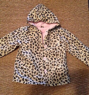 Kids Headquarters, Size 3T, Animal Print, Hooded Raincoat