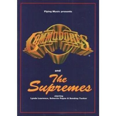 COMMODORES/SUPREMES S/T TOUR PROGRAMME UK Flying Music 1994 A4 Colour Uk Tour