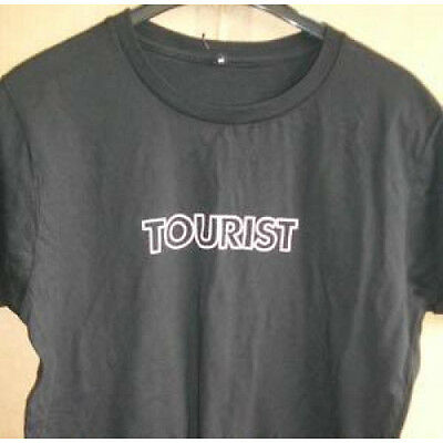 ATHLETE Tourist T SHIRT UK 2005 Promo Issue, Tourist On Front, Band Name On