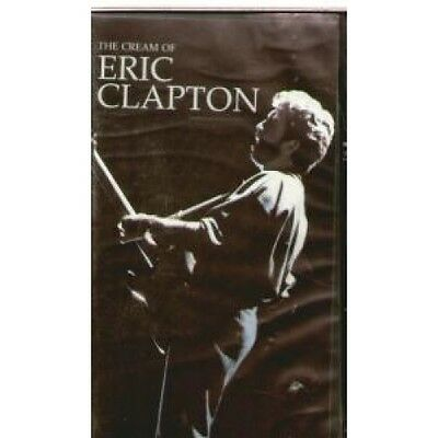 ERIC CLAPTON Cream Of VIDEO UK Channel 5 17 Track 75 Minutes Running Time