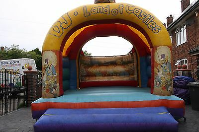 15ft x 15ft simsons castle for sale with blower.