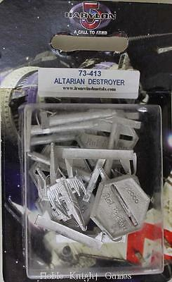 Iron Wind B5 Mini Fleet Scale Altarian Destroyer Pack MINT