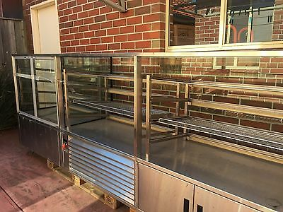 Commercial Stainless Steel Long Food Display