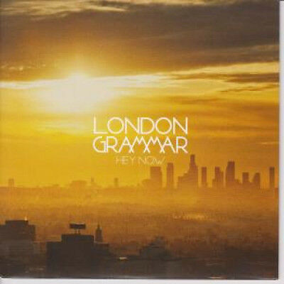 """LONDON GRAMMAR Hey Now 7"""" VINYL UK Metal And Dust 2014 Limited Edition Numbered"""