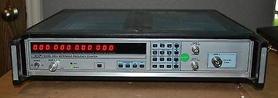 EIP 545A Microwave Frequency Counter 10hz-18GHz opt 05, 08, Tested GOOD