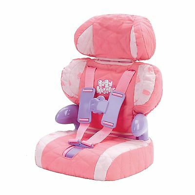 Casdon Toy Dolls Car Booster Seat For Doll Baby Huggles Adjustable Seat New