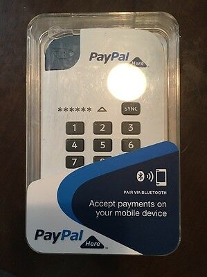 Paypal Here Card Reader - New in Box