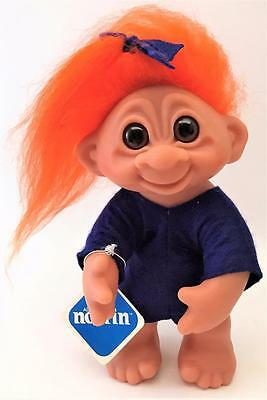 """Beautiful Mint Condition w/ Tags 8"""" Vintage 1977 Norfin Olga Troll w/ Clothes"""
