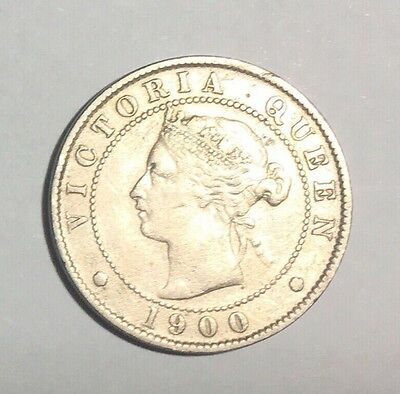 1900 Jamaica 1/2 Penny 120.000 Minted