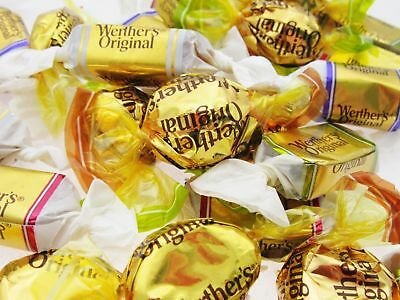 16oz Werther's Caramels Mix Coffee Cocoa Apple Original Werthers Candy BFR