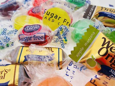 16oz Sugar Free Mix Soft Chewy Hard Candy Werther's Jolly Rancher Lifesaver BFR