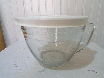 Anchor Hocking 2Qt Batter Bowl with Lid