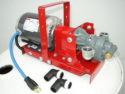 New Waste Oil Transfer Pump For Bulk Oil,Drain Oil,Hydraulic,Vegetable Oil, WVO