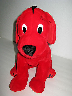 Clifford Big Red Dog Plush Soft Toy Bean Bag Kohls Scholastic VG Condition