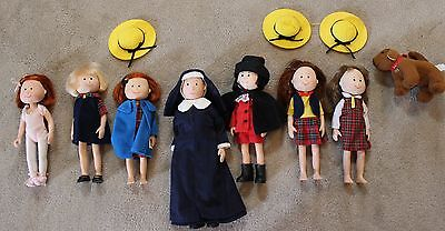 lot of HTF Madeline and Friends Dolls, Dog Genevieve Pepito Miss Clavel Eden