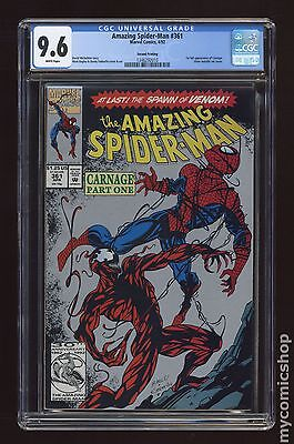 Amazing Spider-Man (1963 1st Series) #361B CGC 9.6 1346292010
