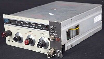 HP/Agilent 8556A 300kHz Spectrum Analyzer-RF Section Plug-in Module/Unit