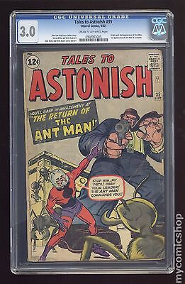 Tales to Astonish (1959-1968 1st Series) #35 CGC 3.0 0960985005