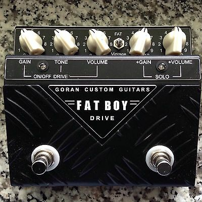NEW! Goran Custom Guitars Fatboy 2 Drive, Bonamassa, Billy Gibbons, Lance Lopez+