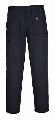 PORTWEST S887NAS30 Action Trouser 762 Short Leg, Navy, Size : 30