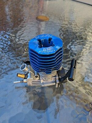 Rc Nitro Engine Sh .28 P3 Like New, Os Cold Plug, Just Finshied Break In