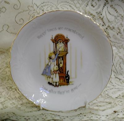 VINTAGE HOLLY HOBBIE 20cm BOWL DISH HAPPY TIMES ARE REMEMBERED