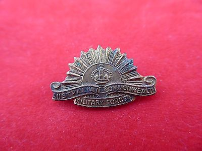 Very small WW2 Rising Sun Badge, Australian Commonwealth Military Forces