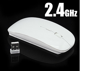 2.4GHz Wireless Optical Gaming Mouse Mice- Computer PC Laptop Black