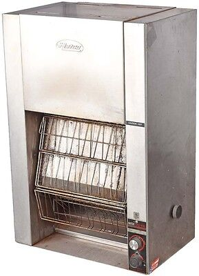 Hatco TK-100 Toast King Commercial Stainless Steel Vertical Conveyor Toaster