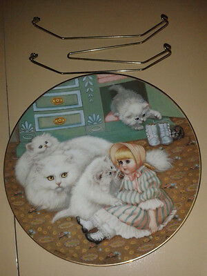 COUNTRY KITTIES PLATE by Gee' Geradi for The Hamilton Collection, 1988 #25416