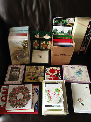 Job lot of cards and stationery