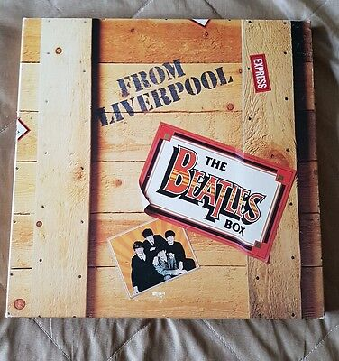 The Beatles Box From Liverpool 8 Lp Box Set Ex/vg