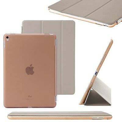 """Gold Slim PU Leather Smart Magnetic Stand Cover Case for Apple iPad Pro 9.7"""""""